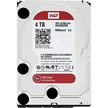 WD Red 4TB NAS Hard Disk Drive - 5400 RPM Class SATA 6 GB/S 64 MB Cache 3.5-Inch - WD40EFRX Review