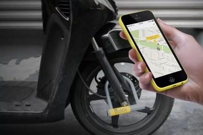 keyless smart bike lock