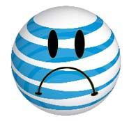 AT&T Frowny