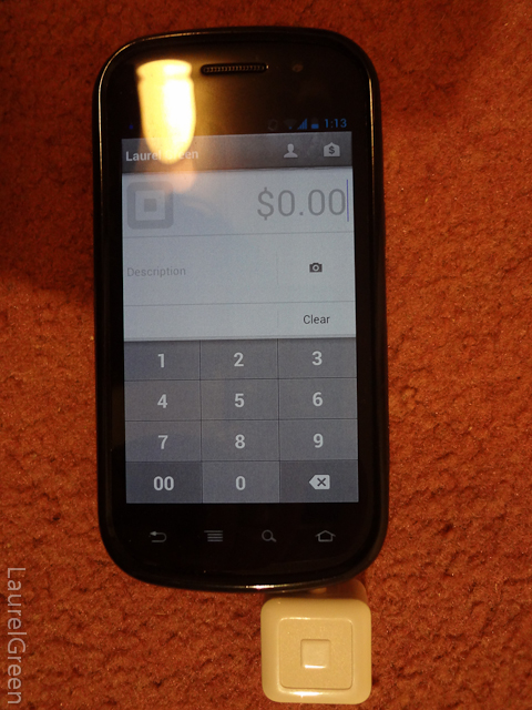 the app the runs the square card reader