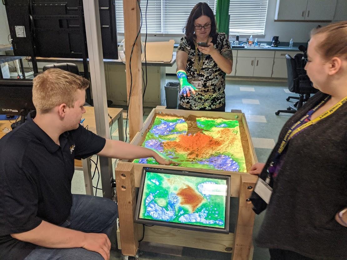 Augmented Reality Sandbox Feb 2020