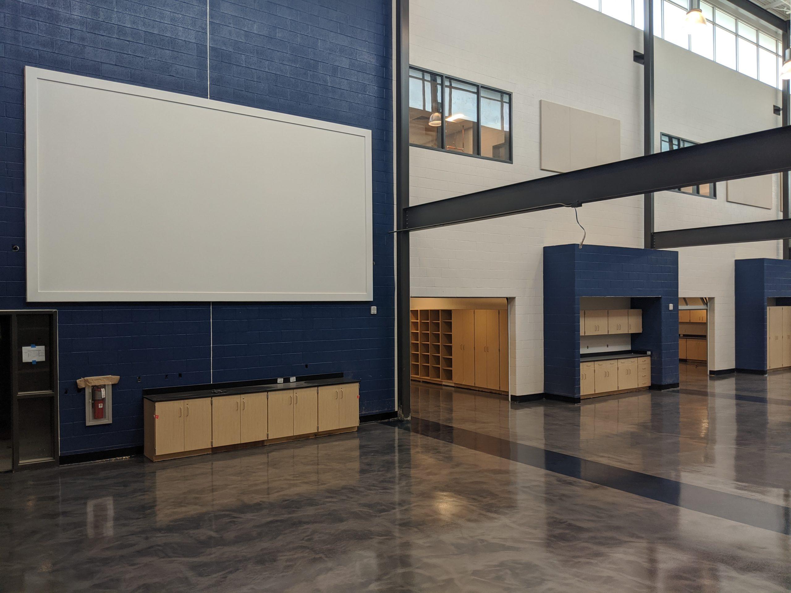 HS STEM Lobby August 2020