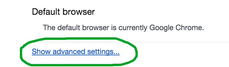 Fixing Chrome download status bar not appearing after a download