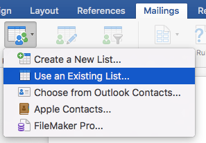 Email Merge Greyed Out Word 2016 For Mac - pictureburan's blog