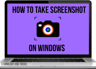 How To Take Screenshot On Laptop & Pc on Windows OS