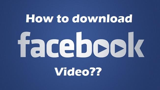 facebook video download