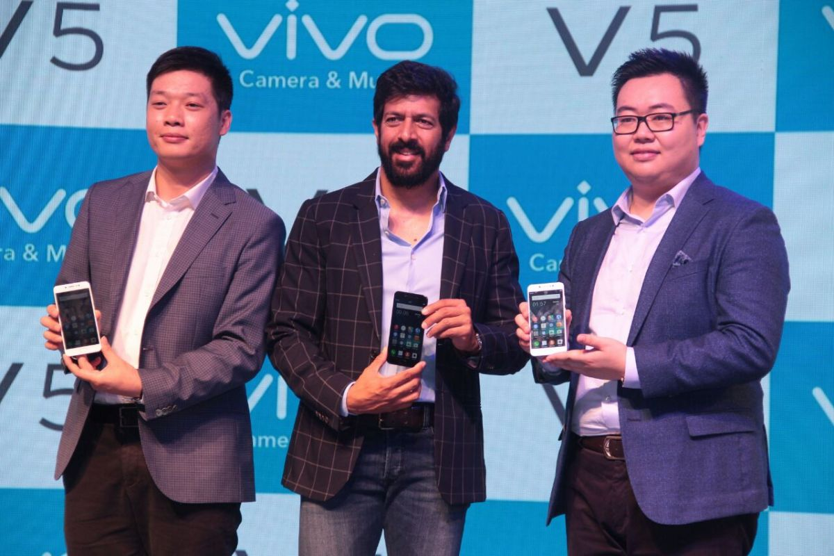 Vivo V5 is Launched in India with 20MP of Front Camera and Moonlight Focus