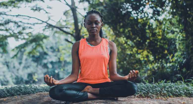 try headspace to meditate if you are feeling anxious