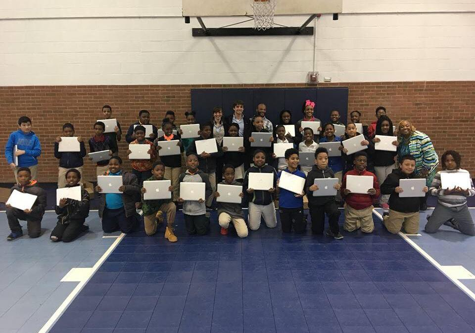 Donating Laptops To Gillespie Park Elementary School To Empower Students
