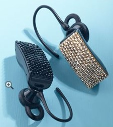 Swarovski Crystal Jawbone Bluetooth Headset