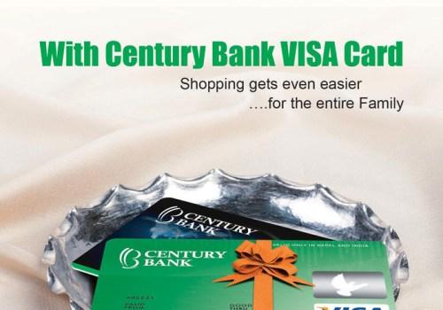 सेञ्चुरी बैँकद्वारा भिसा डेबिट र ट्राभल कार्ड सेवा शुरु