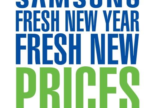 सामसङद्वारा नयाँ वर्षको लागि 'फ्रेस प्राइसहरु' योजना