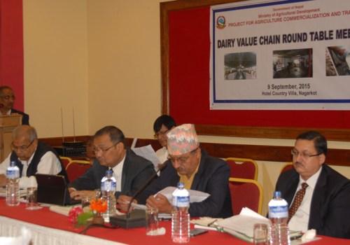 दुग्ध विकास मूल्य श्रृंखला सम्बन्धी गोलमेच सम्मेलन सुरु