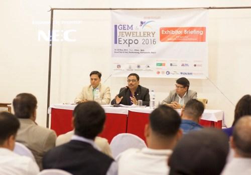 नेपाल इन्टरनेशनल जेम एण्ड ज्वेलरी एक्स्पो २०१६को तयारी पूरा
