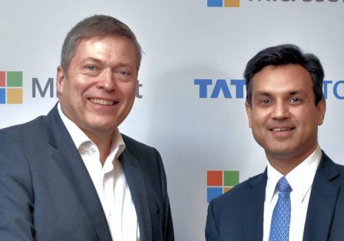 टाटा मोटर्स र माइक्रोसफ्ट इण्डियाबिच सहकार्य