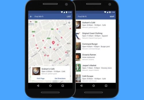स्मार्टफोनमा भएको फेसबुक एपले नजिकको वाईफाईको जानकारी दिने