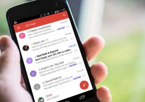 जीमेल मोबाइल एप नयाँ डिजाइनमा, ईमेलको जवाफ दिन मशीन लर्निंग प्रयोग