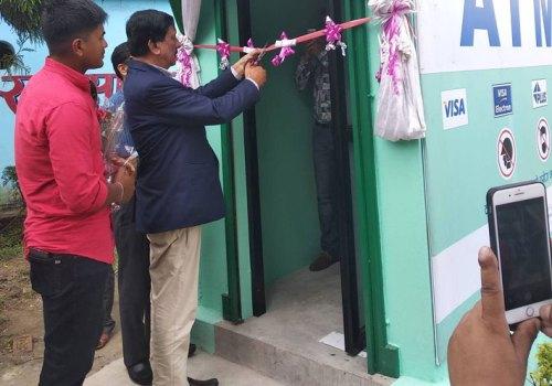 सिटिजन्सद्वारा काठमाडौँको चोभारमा एटिएम सञ्चालन