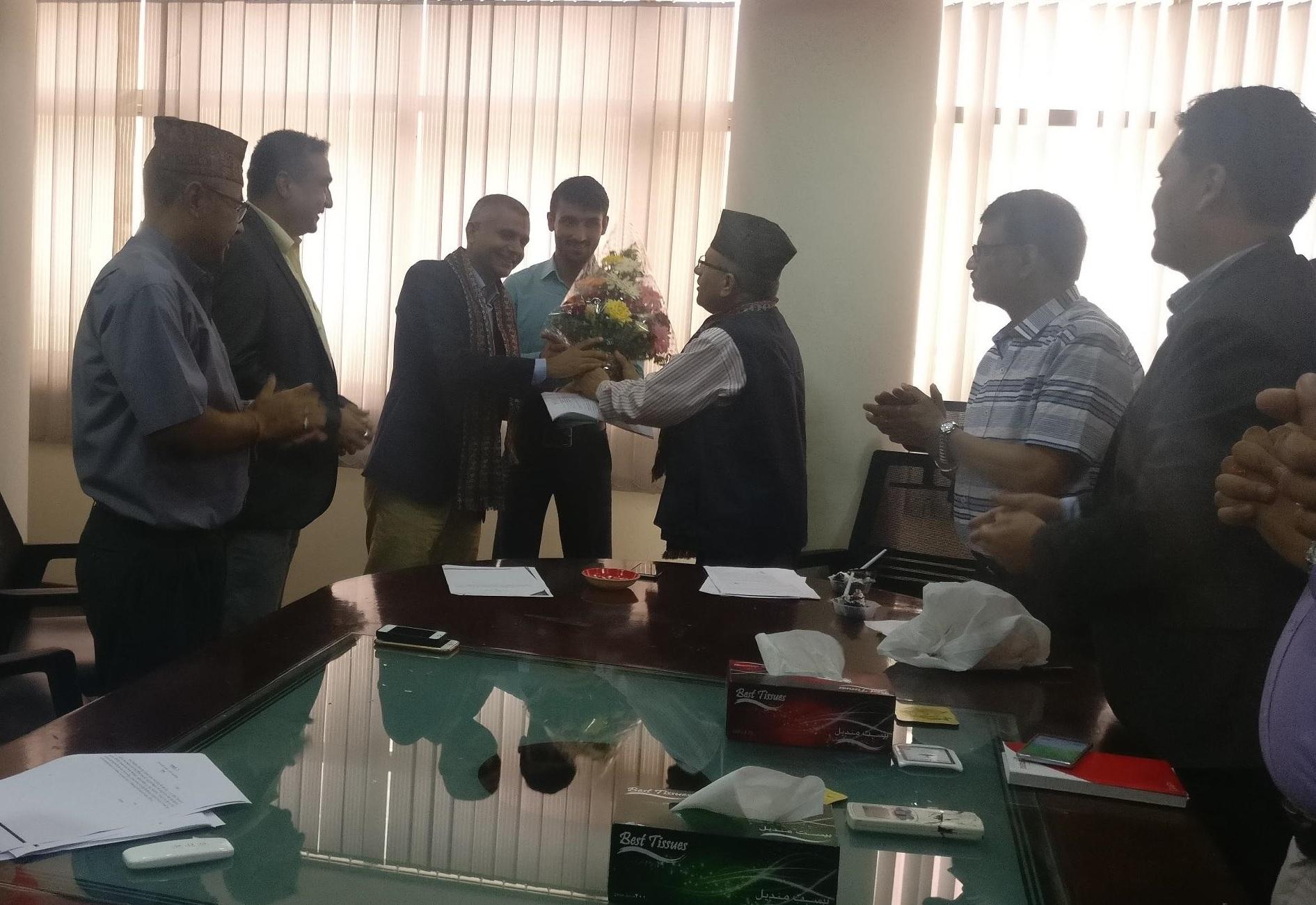 आइएमई लाइफ इन्स्योरेन्सको प्रमुख कार्यकारी अधिकृतमा श्रीचन्द्र भट्ट नियुक्त