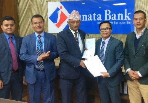 आइएमई डिजिटल र जनता बैंक नेपाल बीच सम्झौता