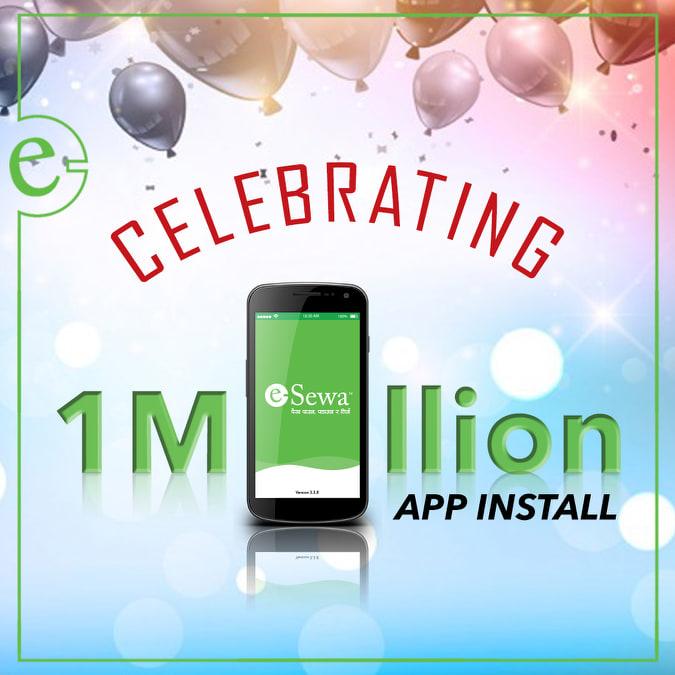 इसेवाको मोबाईल एप डाउनलोड दश लाख नाघ्यो, २५० बढी सेवाको शुल्क भुक्तानी हुने