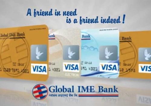 ग्लोबल आइएमई बैंकको कार्डबाट अनलाइन सपिङ्ग गर्दा सेवा शुल्क नलाग्ने