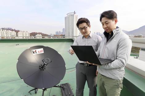 कोरियाली अपरेटर केटीद्धारा ५जी नेटवर्क र स्याटेलाइट बिच सम्पर्क गर्न सफल