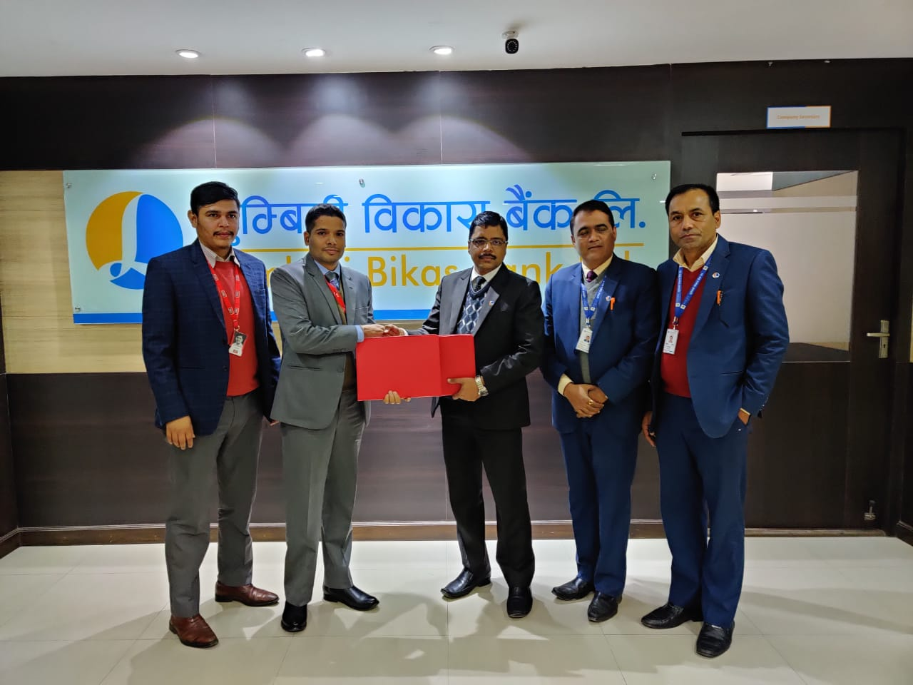 आइएमई पे र लुम्बिनी विकास बैंकवीच सम्झौता