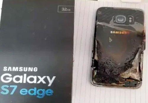 सामसङको ग्यालेक्सी एस७ एज स्मार्टफोनमा आगो लाग्यो, तर कम्पनीले कुनै क्षतिपूर्ति दिएन्