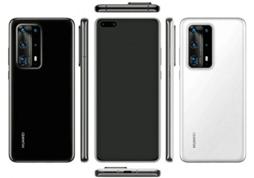 यस्तो डिजाइनमा आउँछ ह्वावेको फ्ल्यागशिप स्मार्टफोन पी४० प्रो, पेन्टा रियर क्यामरा सेटअप