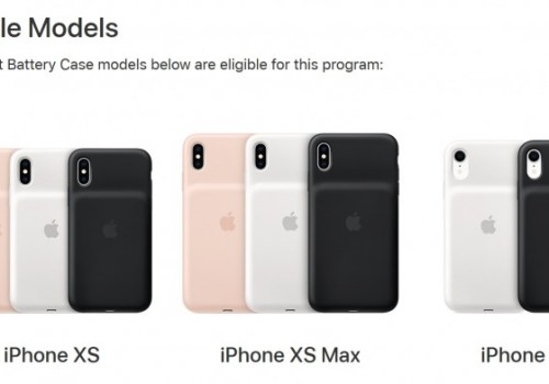 एप्पलले शुरु गर्यो ब्याट्रि रिप्लेसमेन्ट कार्यक्रम, यी आइफोन मोडलका स्मार्ट ब्याट्रि केसमा लागू हुने