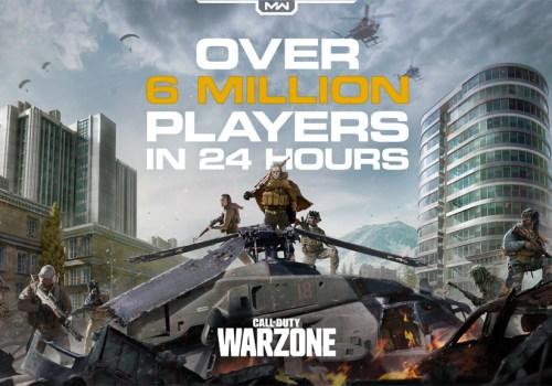 अनलाइन गेम कल अफ ड्यूटीको 'वारजोन' सार्वजनिक, २४ घण्टामा नै ६० लाख प्लेयर सहभागी