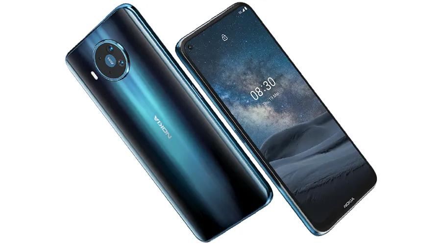 नोकियाको पहिलो ५जी स्मार्टफोन नोकिया ८.३ ५जी लन्च, ६४ मेगापिक्सेलको क्वाड क्यामरा सेटअप