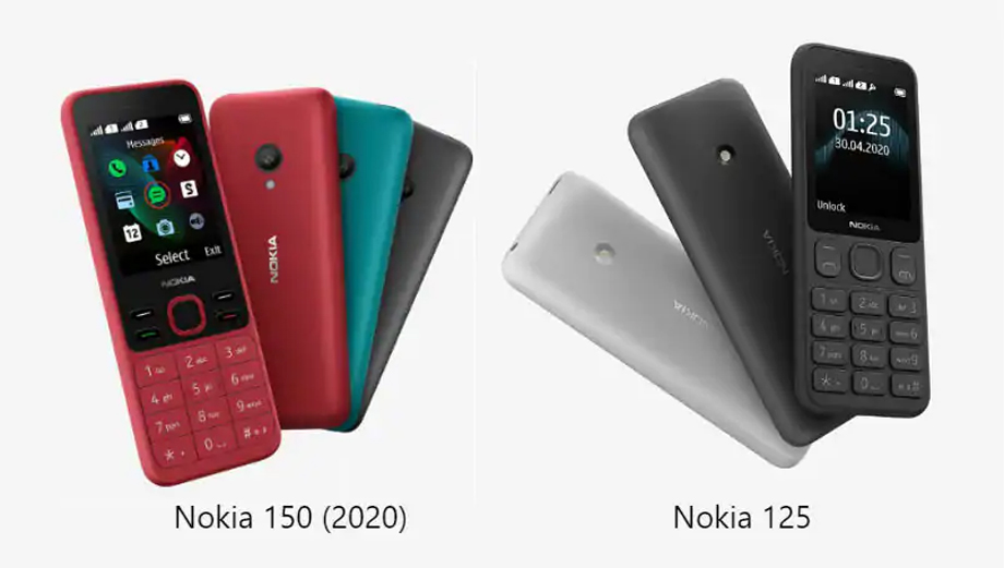 Nokia 125 and Nokia 150(2020) is available in Nepal