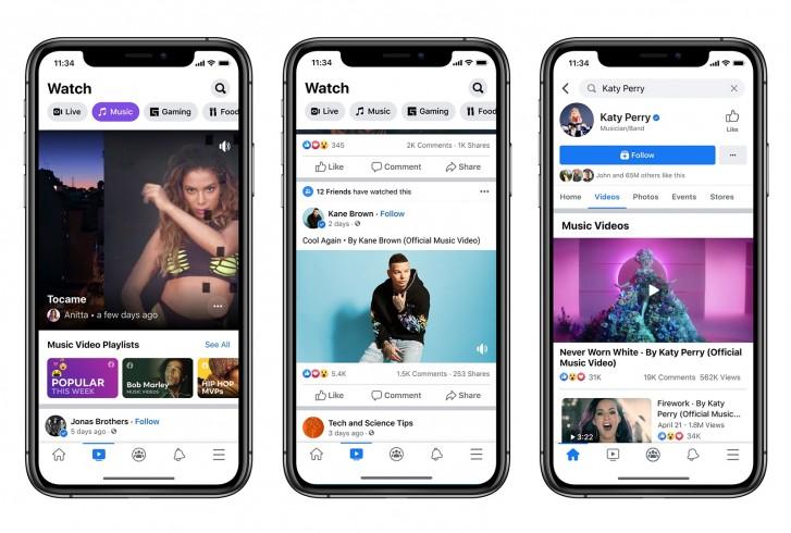 फेसबुकले आफ्नो प्लेटफर्ममा आधिकारिक म्यूजिक भिडियो थप गर्यो