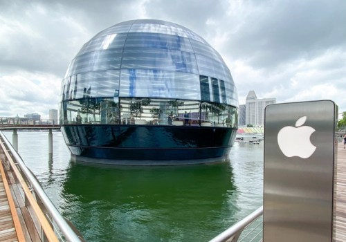 एप्पलको पानीमा तैरिने पहिलो रिटेल स्टोर सिंगापुरमा खुल्यो, यस्तो छ विशेषताहरु (फोटोसहित)
