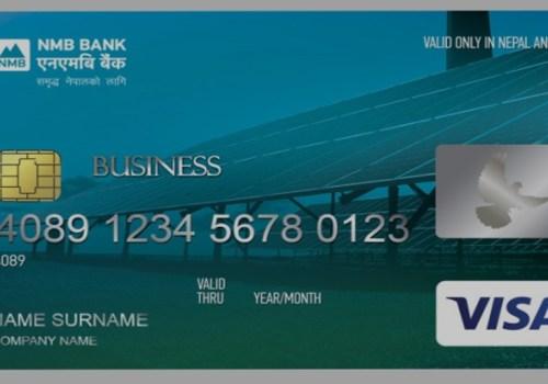 एनएमबी बैंकले ल्यायो भिजा कर्पोरेट क्रेडिट कार्ड