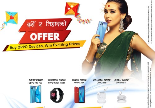 "OPPO announces ""Dashain Ra Tihar Ko Offer"" SMS Campaign 2020"