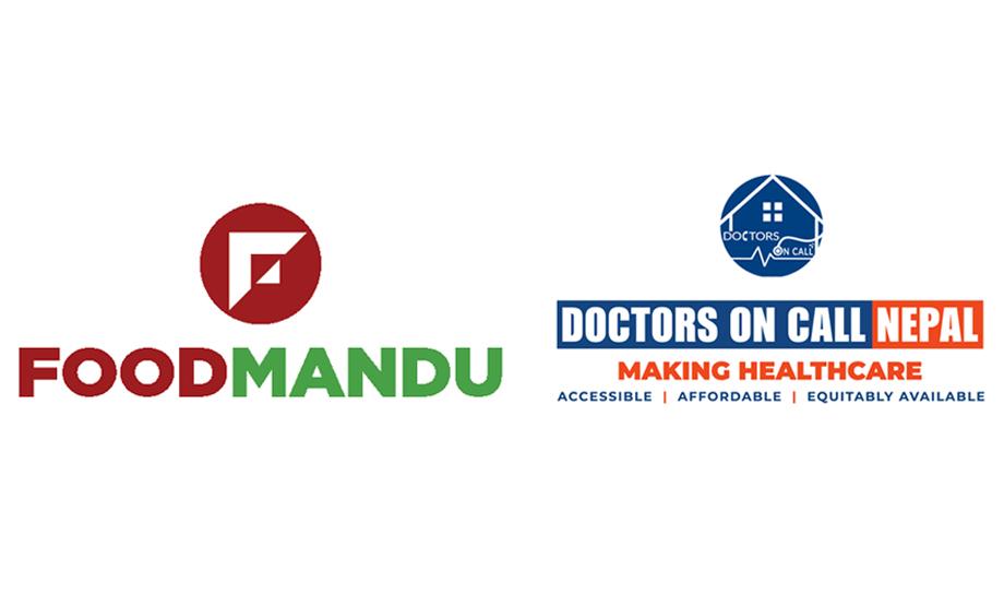 फुडमाण्डु र डक्टर्स अन कल नेपाल बीच साझेदारी, सुरक्षित मापदण्डमा फुड डेलिभरी गर्ने