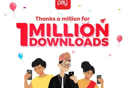 आइएमई पे एप १ मिलियन क्लबमा, मोबाइल टपअप गर्ने एक जनालाई लक्की ड्रबाट मोबाइल उपहार दिने