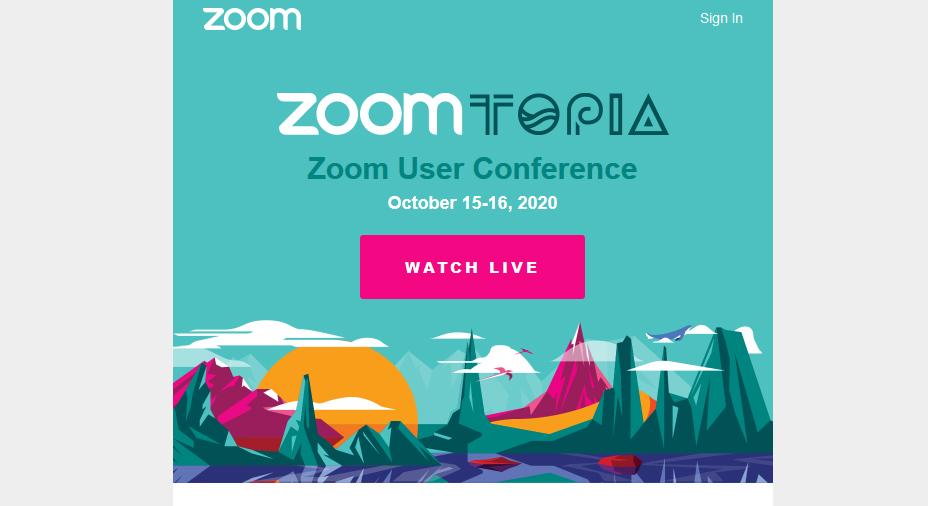 भिडियो कन्फ्रेन्सिङ्ग कम्पनी जूमले यूजर कन्फ्रेन्स 'जूमटोपिया २०२०' गर्दै, यसरी हुनुस् सहभागी