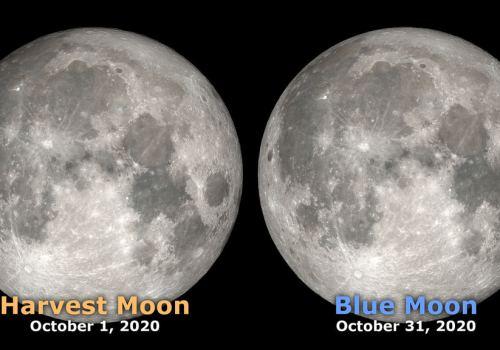 आज राती आकाशमा 'ब्लू मून' हेर्न सकिने, अर्को 'ब्लू मून' अढाई वर्षपछि मात्रै