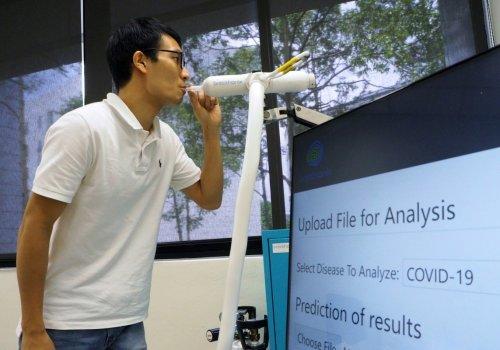श्वास परीक्षणबाटै ६० सेकेण्डमा कोरोनाभाइरस पत्ता लगाईने, सिंगापुरमा नयाँ उपकरण परीक्षण हुँदै