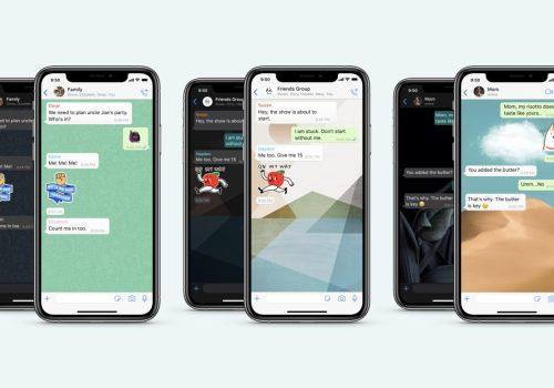 आईफोनका लागि ह्वाट्सएपको नयाँ अपडेट, च्याटलाई वालपेपरले कस्टमाइज गर्न सकिने