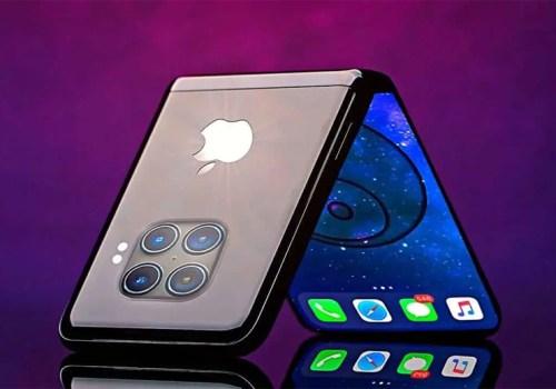सामसङको ग्यालेक्सी जेड फ्लिप जस्तै फोल्डेबल आईफोन बनाउँदै एप्पल