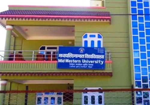 मध्यपश्चिमाञ्चल विश्वविद्यालयले अनलाइनमार्फत जानकारी दिँदै