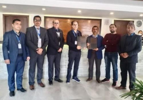 नेपाल एसबिआई बैंक र होटल बाराहीबीच सम्झौता