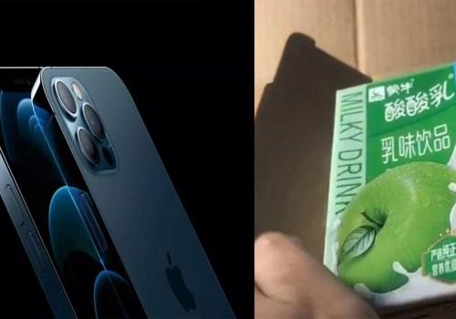 अर्डर गरिन् आईफोन १२ प्रो म्याक्स, हात पर्यो स्याउ स्वादको दही!