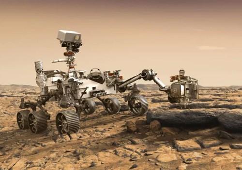 नासाको पर्सिभेरन्स रोभर मंगल ग्रहमा अवतरण गर्दै