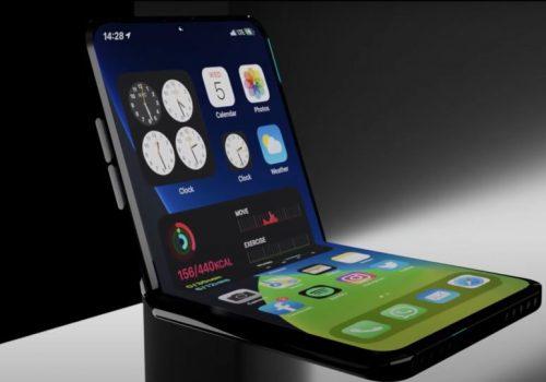 एप्पलको क्लामशेल फोल्डेबल आईफोनले एप्पल पेन्सिल सपोर्ट गर्नसक्ने